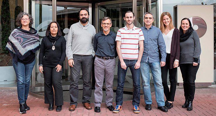 Núria Malats, Latifa Bakiri, Diego Megías, Paco Real, Isidoro Cobo, Irene Millán, Irene Felipe