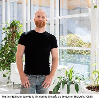 Martin Krallinger, jefe de la Unidad de Minería de Textos en Biología del CNIO