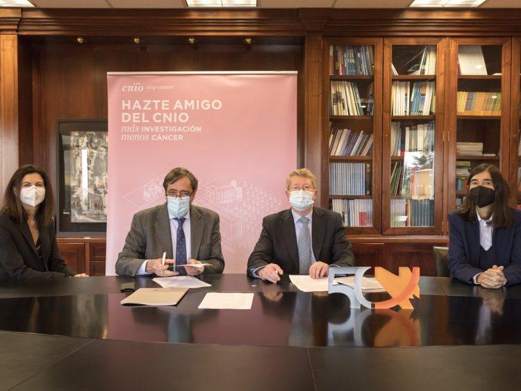 Fundación Domingo Martínez and CNIO agreement
