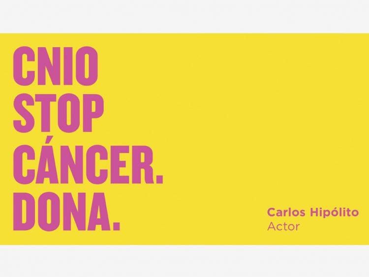 Vídeo #CNIOStopCancer Carlos Hipólito