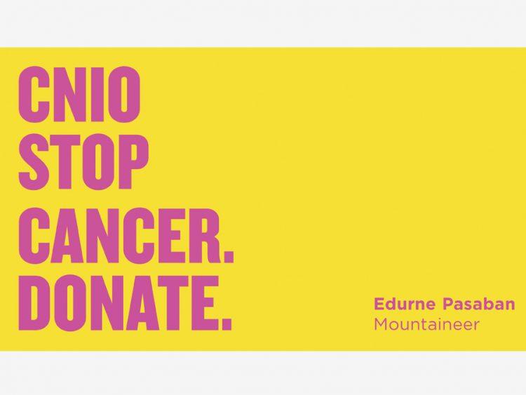 Video #CNIOStopCancer Edurne Pasaban