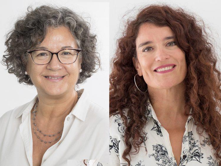 Núria Malats and Eva Ortega-Paíno, CNIO